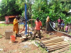 Drilling at Kirasa - Good Well
